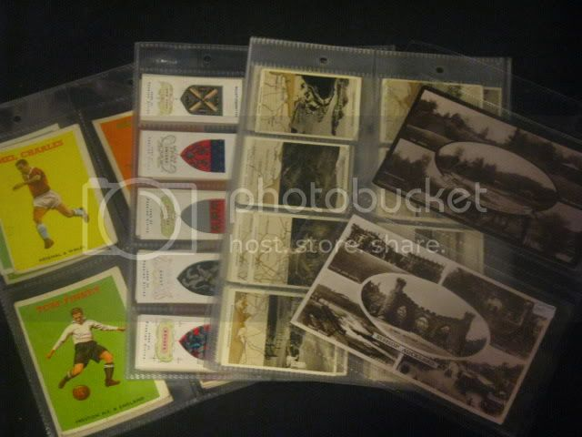 50 GLEN SLEEVES FOR CIGARETTE, POSTCARD, TEA TRADE CARD